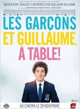 les garcons et guillaume a table !